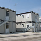 Two-story accommodation compounds for building sites - Modules Series 2000