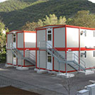 CompTwo-story accommodation compounds for building sites - Modules Series 2000