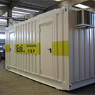 6.0x2.4 meter container for offshore accommodations – Series SHELTER Modules