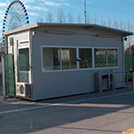 Prefabricated ticket booth Series 1000