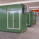 Technical shelter which fits the most diversified applications adatto alle più svariate applicazioni - Series SHELTER Modules