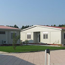 Camp accommodation modules of the Armed Forces - Modules series M1 with double roofing