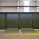 6.0x2.4 meters warehouse modules for the Armed Forces  - Modules series M1