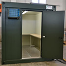 3.0x2.4 meters warehouse module for the Armed Forces - Modules series M1