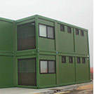 Two-story camp accommodation modules of the Armed Forces - Modules series M1