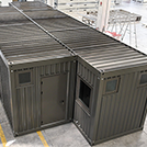 Prefabricated bar M1 type – aerial view