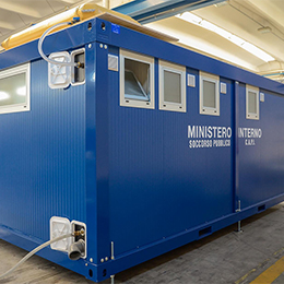 Portable booth for toilet facilities