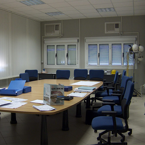 Meeting room interior built with Series 2000