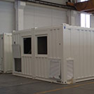 Electrical and mechanical workshop modular building - Series SHELTER Modules