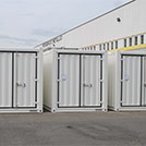 12x2.4 meter container for welding workshop  - Series SHELTER Modules