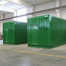 Containers for the petrochemical industry