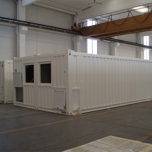 Series Shelter mechanical workshop