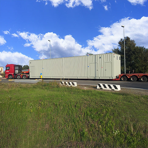 Transport container 18 m