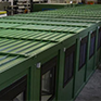 PREFAB MODULAR OFFICES for military operating area
