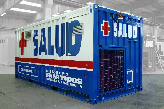Mobile Medical Shelter : Mobile medical units can provide cutting edge solutions